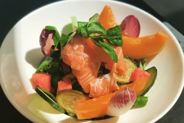 Salade de Saumon et Melon